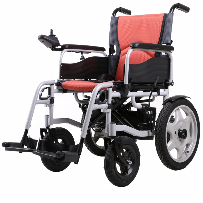 Mina 6401 hot sell good price lightweight power foldable for Cost of motorized wheelchair