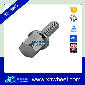 China hot sale auto parts of wheel hubs hex lug bolts
