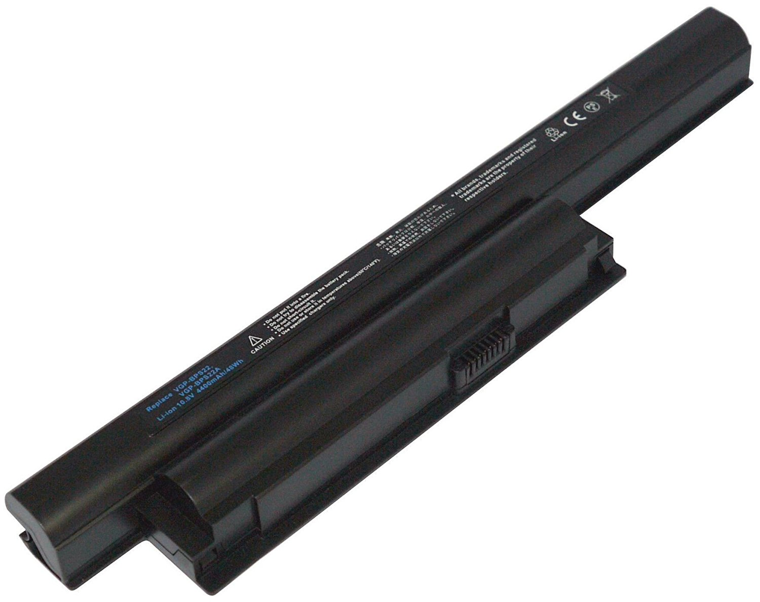 Buy 6 Cell Battery for SONY VAIO VGP-BPS22, VGP-BPS22A, VPC Series