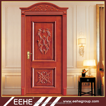 Wooden Single Wooden Front Door Designs Flower Designs Buy Wooden