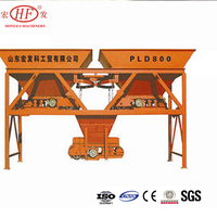 CE certification weighting aggregate hopper PLD1200-2 Batching Machinery made in China spare parts for batching plant