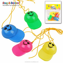 Best safety plastic party colorful small whistle for kids