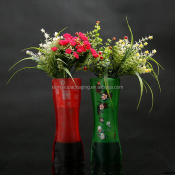 Popular Design Modern Clear Flexi Foldable Shatterproof Vase Buy