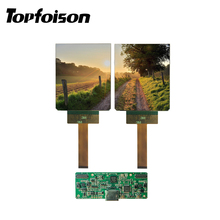 [HOT]Topfoison 3.81inch Dual 90hz OLED 1080*1200 AMOLED Micro display oled screen for VR