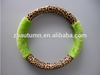 Velvet steering wheel cover (Animal grain 16 inch)