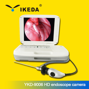 Veterinarian portable flexible nasal endoscope