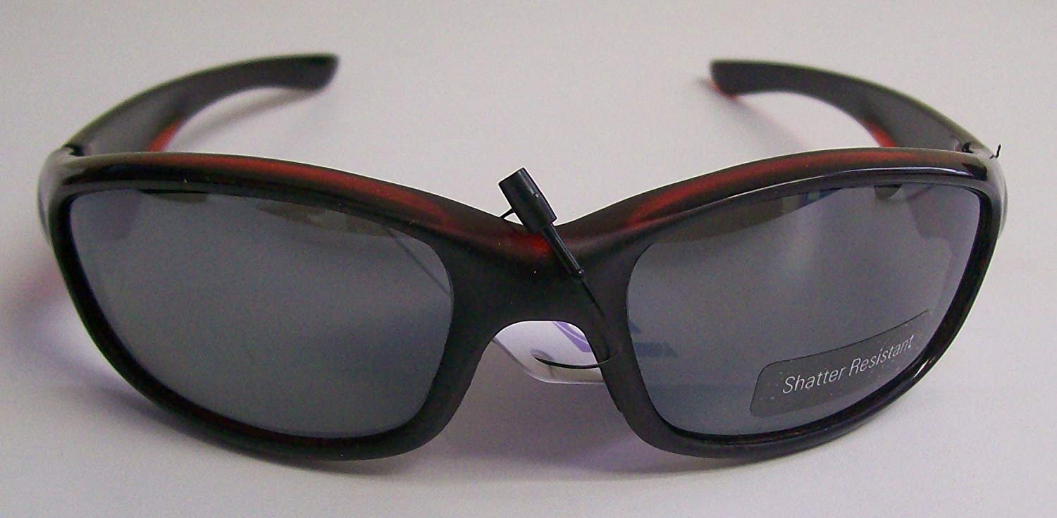516f7d44be1 Get Quotations · Black Sunglasses with Red Tinting