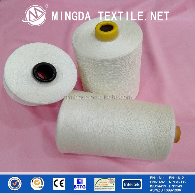 hot sale 40s/2 high temperature resistance fireproof meta-aramid yarn for knitting