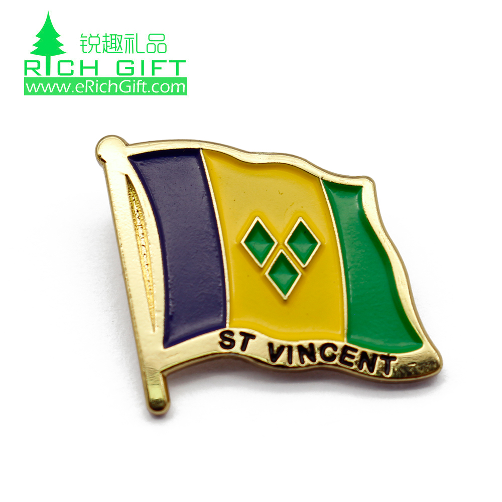 Badges Arts,crafts & Sewing Badge United States Friendshi Metal Flag Brooches Lapel Pins For Clothes 100pcs Cool In Summer And Warm In Winter