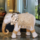 Factory wholesale ornaments resin decorative souvenir thailandlarge elephant statue animal figurine