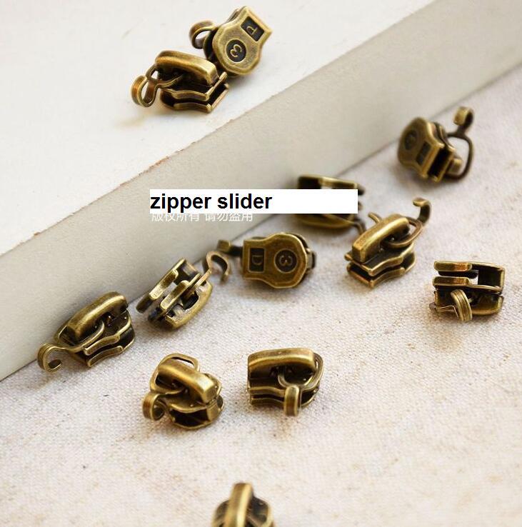 Pcs Lot Vintage Metal Font B Zipper B Font Head Font B Zipper B Font on Zipper Retainer Box Repair