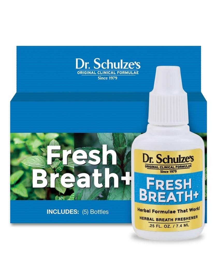 Dr. Schulze's Fresh Breath Plus Breath (5-Pack)