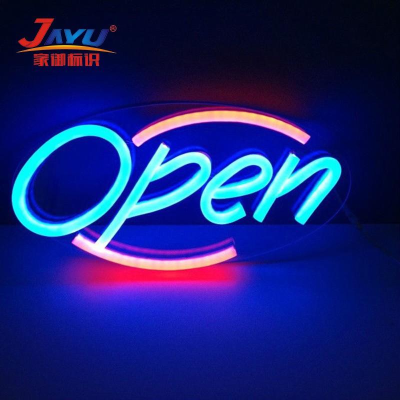 Hanging Led Lights Flex Neon Sign Letters Led Open Sign