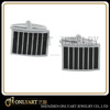 Bulk wholesale cufflinks black painting vertical stripe fashion cufflinks