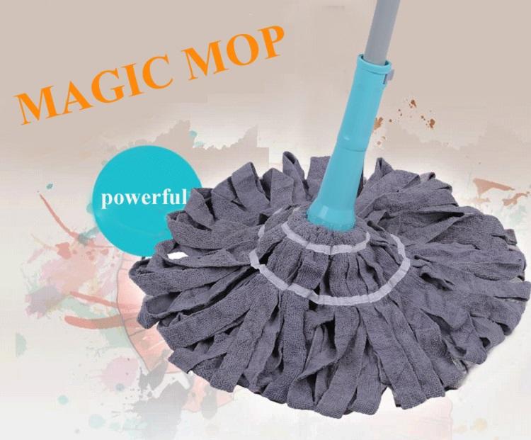 Umweltfreundliche Boden Sauber Klapp Mikrofaser Staub Magie Flache Mopp