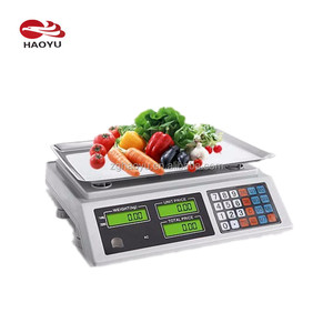factory sales acs system electronic scale manual, acs scales 40kg 30kg 15kg 6kg 3kg from haoyu