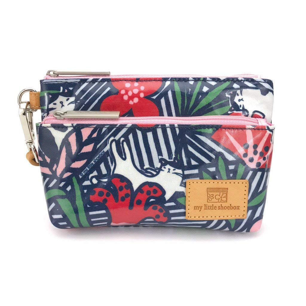 Get Quotations · Travel Cosmetic Bags Gifts For Her Gifts For Women My  Little Shoebox Small Makeup Clutch Pouch 366bb40ba26d0