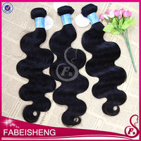 100% virgin human hair virgin brazilian body wave, natural body wave hair