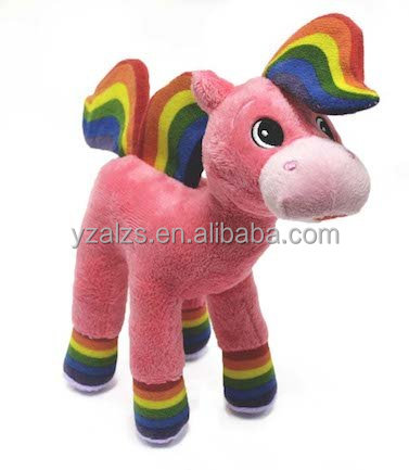 Baby First Tv Rainbow Horse Plush Stuffed Toy Buy Stuffed Plush