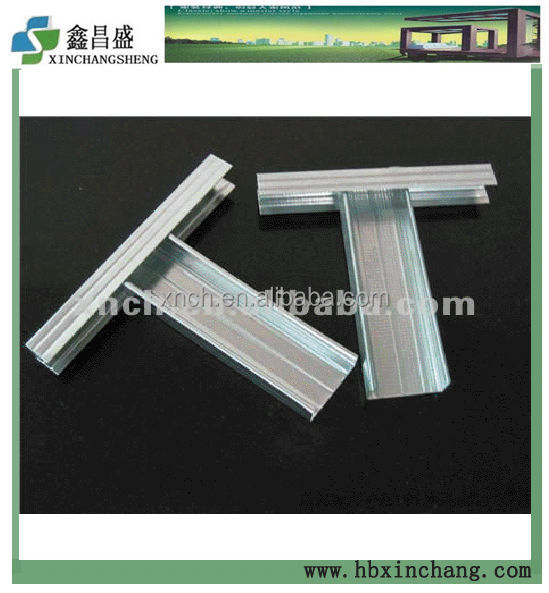 Galvanized Steel Keel For Ceilings Suspension/UD &CD/Galvanize Coil Accessories