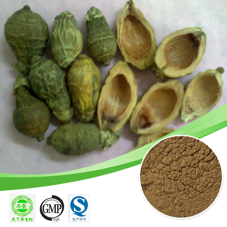2.7% alkaloid or 10:1 areca nut peel extract Betelnut skin extract