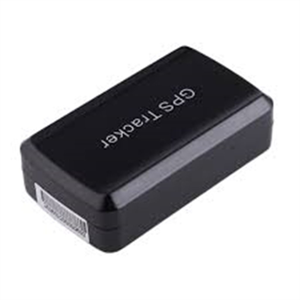 MyEasyShopping Mini Car GPS Tracker with 6000mAh Battery, Real Time Tracking - Black