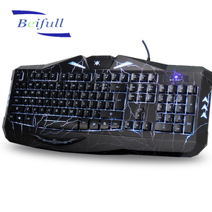 Shenzhen brands top pc keyboards with illuminated light