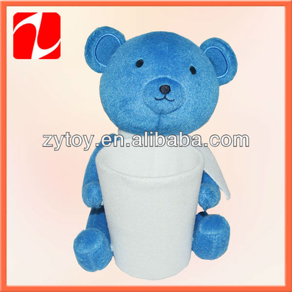 Hot selling plush toys pen holders in China shenzhen OEM
