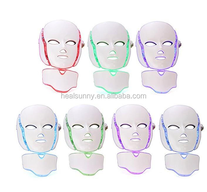 HealSunny Sept Couleurs Laser Led Visage Photon Masque