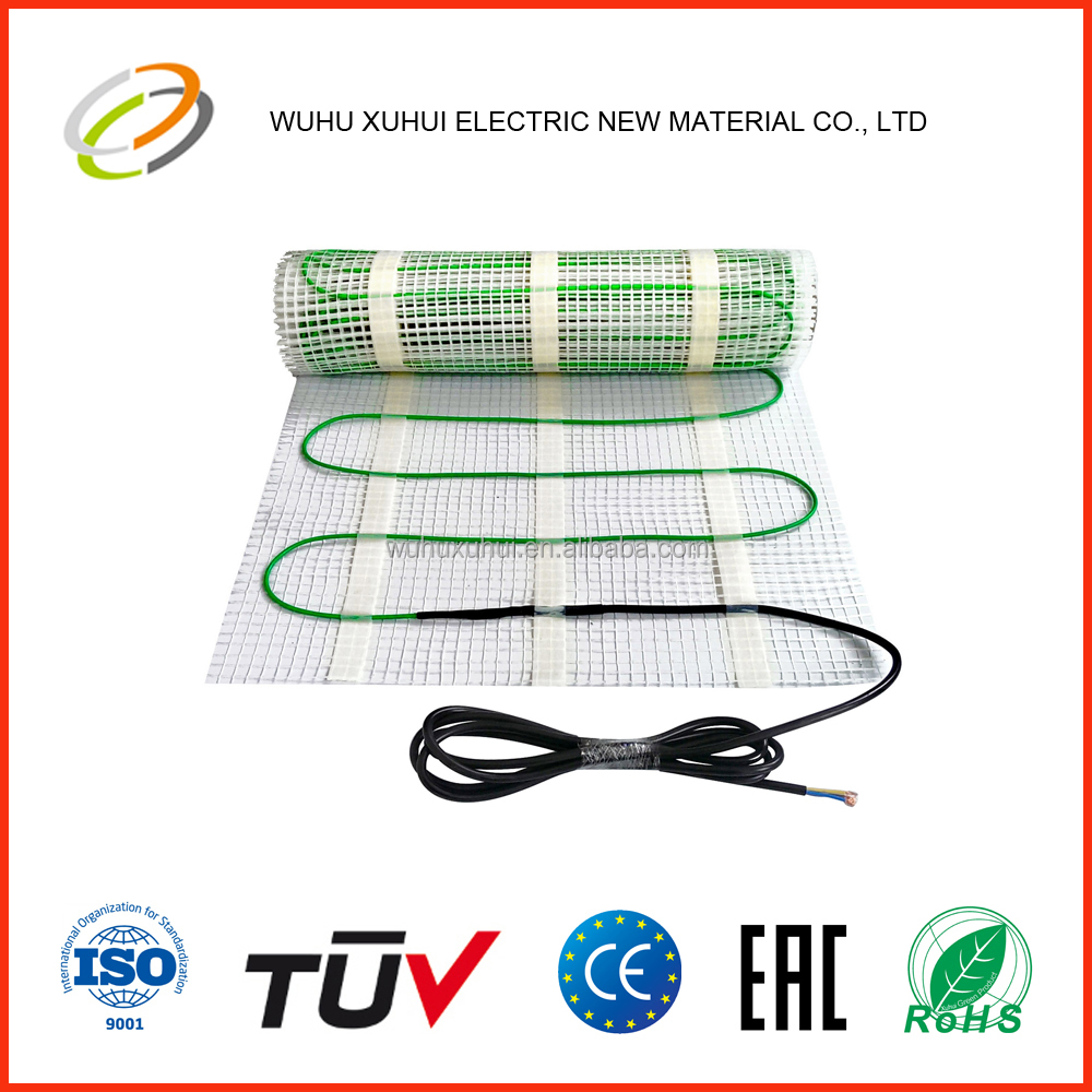 Twin conductor outdoor underfloor heating cable