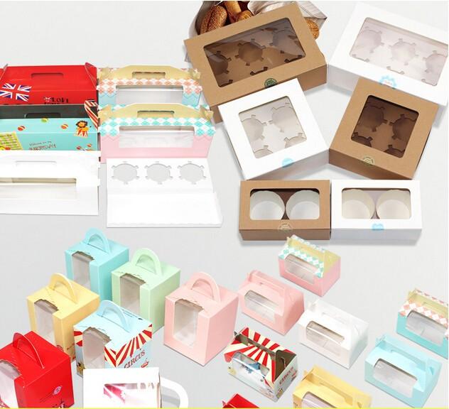 Plastic Disposable Dessert Packaging Benji Mousse Pastry
