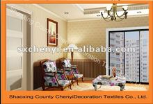 2012 good sale upholstery folower print sofas fabric