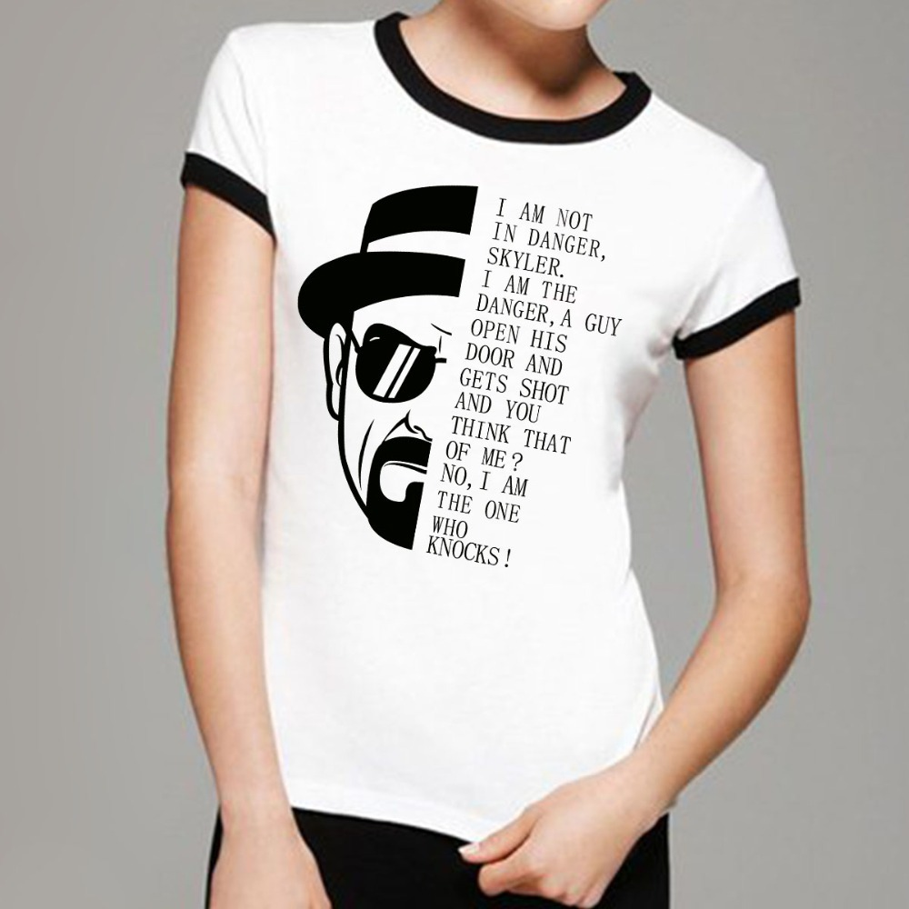 Find high quality printed Breaking Bad TV Show Women's T-Shirts at CafePress. Browse unique designs created by artists and designers all over the world. Classic T.