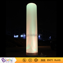 Balloon LED lighted long inflatable tube