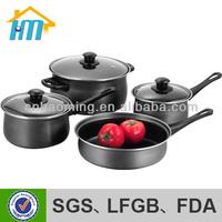 hard anodized aluminum cookware set