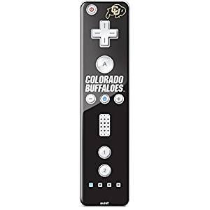 University of Colorado Wii Remote Controller Skin - University of Colorado Buffaloes Vinyl Decal Skin For Your Wii Remote Controller
