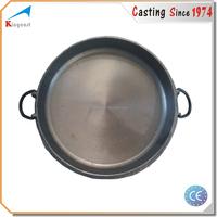 Custom high quality best price cast iron paella pan