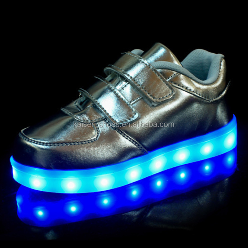 2017 fashion high quality led light up kids shoes,popular led shoes kids