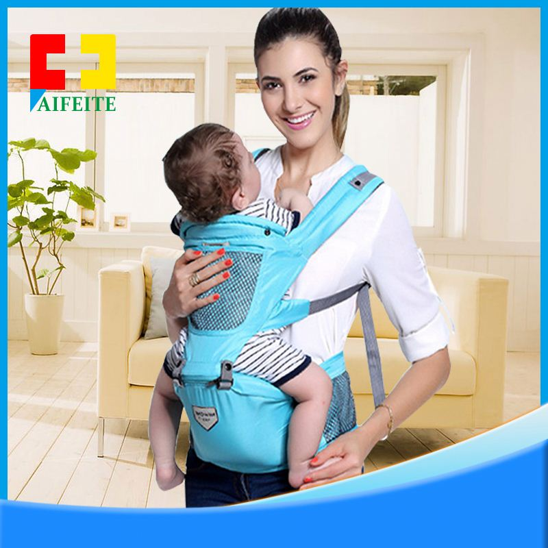 High Quality Fashion Cotton Mesh Frame Material Baby Carrier Sling Wrap