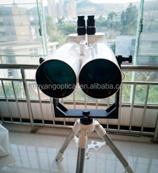 "25-50x150 BT giant optical binoculars telescope with bak4 prism 2inch eyepiece can use  high power 1.25 ""eyepiece by interface"