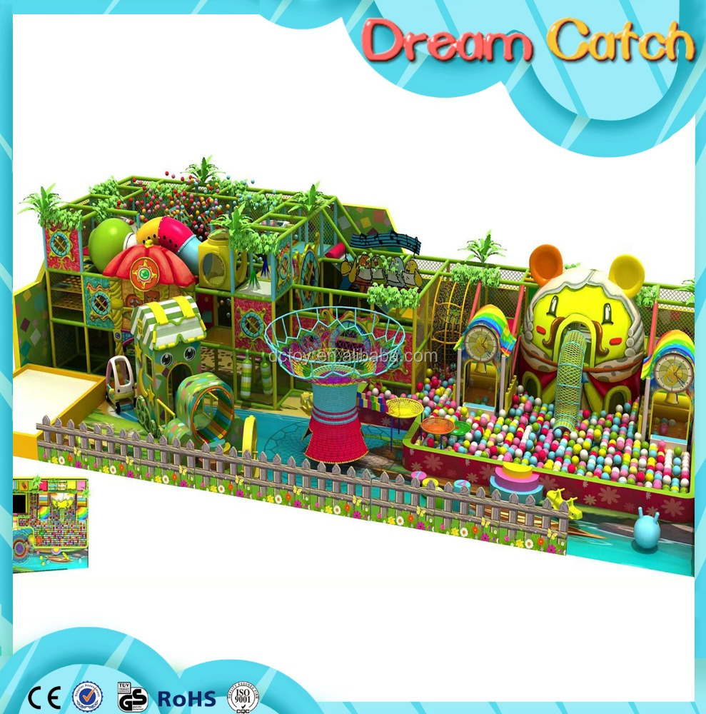 Kids play indoor sets forest theme amusement park naughty castle