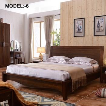 Latest Wooden Bed Designs Single Bed Frame Room Furniture Bedroom Set ...