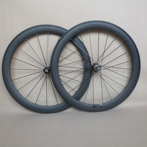 23 wide 3k matte 50mm Carbon Wheels 650C Road Bicycle Wheelset Clincher