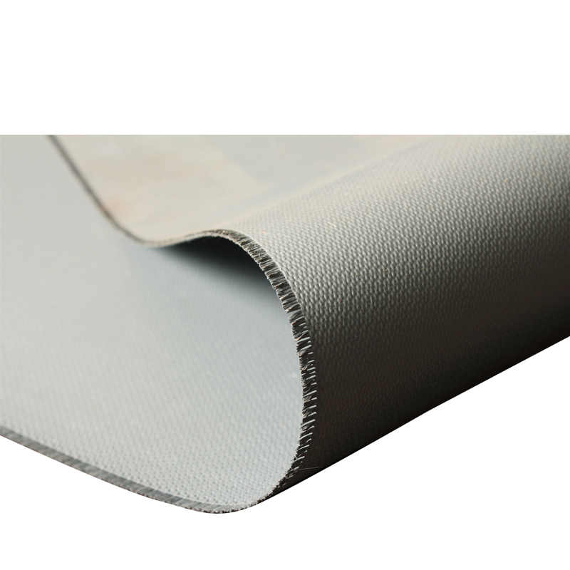 heat resistant insulation high temperature 0.4mm silicone rubber coated glass thermal insulation fabric