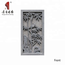 Chinese brick factory direct supplies abstract relief sculpture wall panels