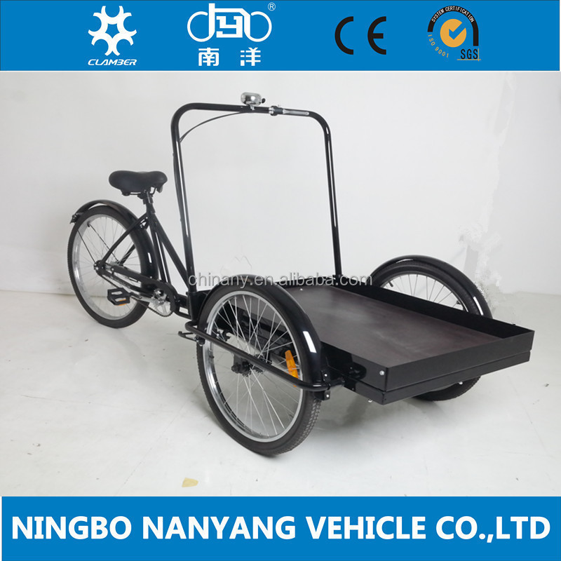 Nanyang Vehicle Bicycle Cargo / Reverse Trike / Delivery Tricycles ...