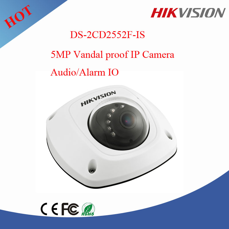 Hikvision 5MP CMOS ICR Infrared Network Mini Dome Camera outdoor cctv camera