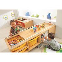 2019 new design montessori school furniture kids toy shelf storage wholesale