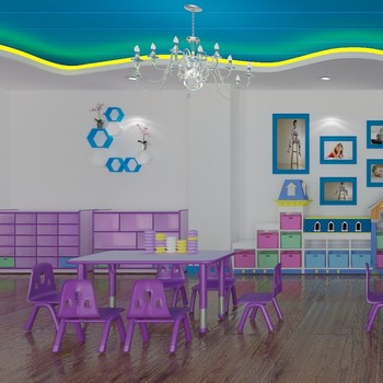 Hot Nursery Furniture Clroom Table And Chair Set Professional Manufacturers