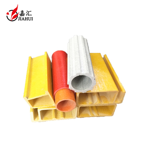 High quality pultrusion profiles FRP round hollow glass fiber tube